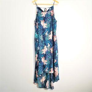 Old Navy Floral Halter Maxi Dress Size XXL